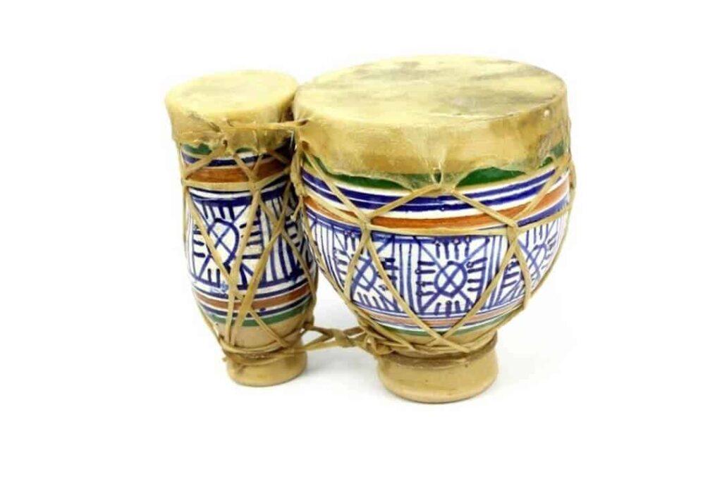bongós de cerámica