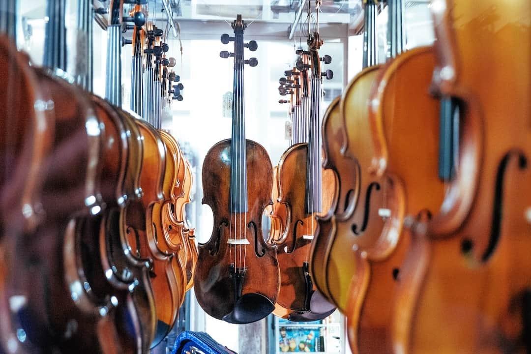 instrumento de cuerda violin
