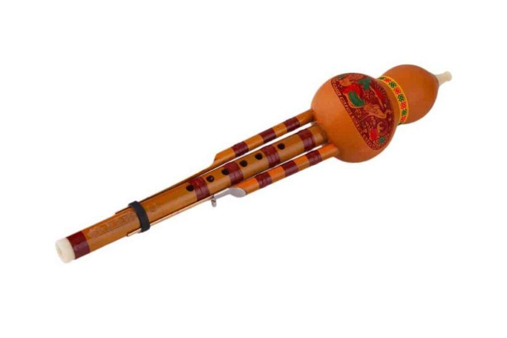 Hulusi instrumento de viento
