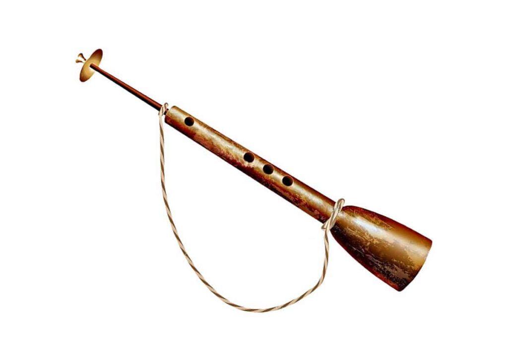 Algaita instrumento musical de viento