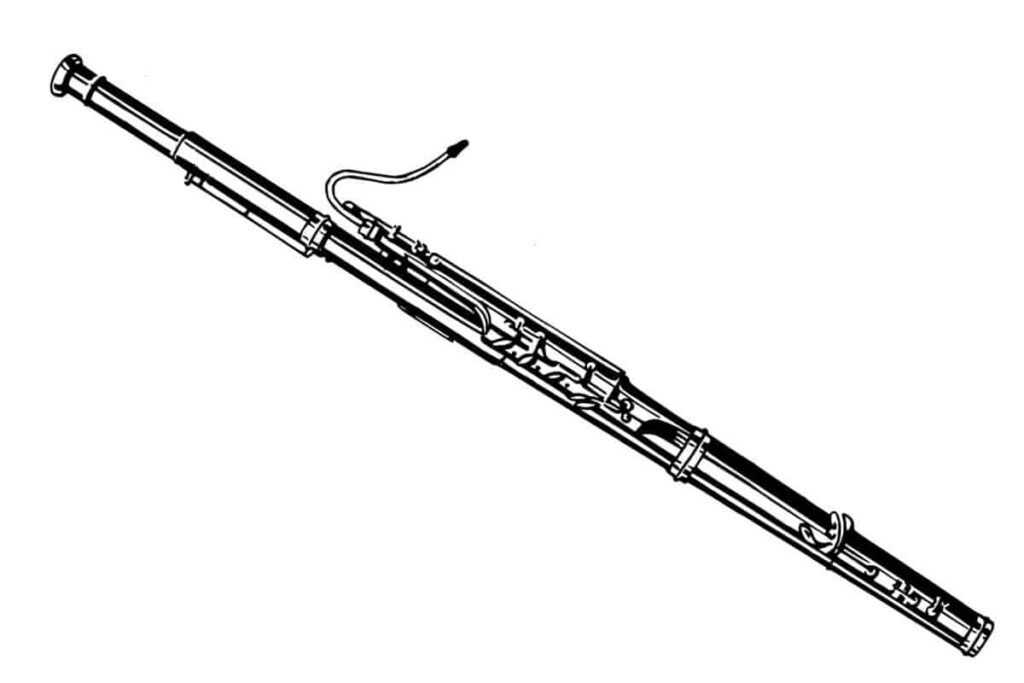 bassoon instrumento de viento madera