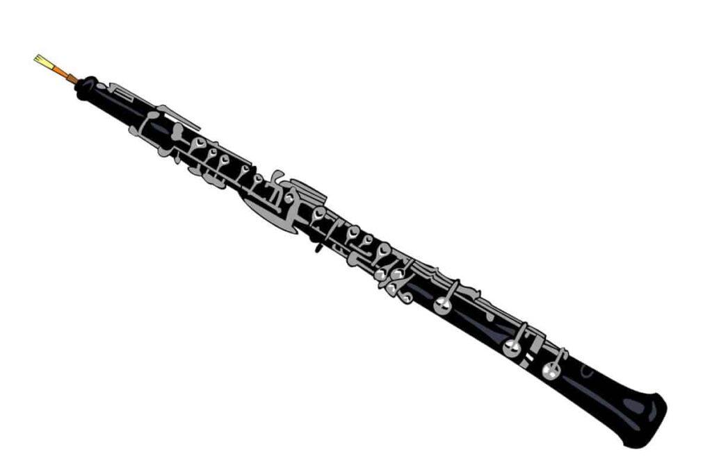 oboe instrumento de viento madera