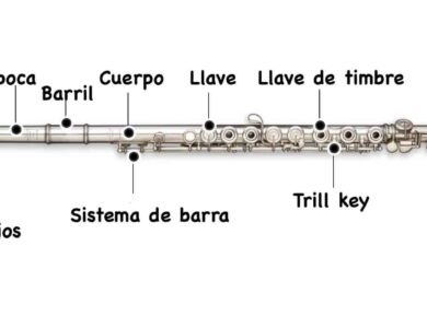 partes de la flauta traversa
