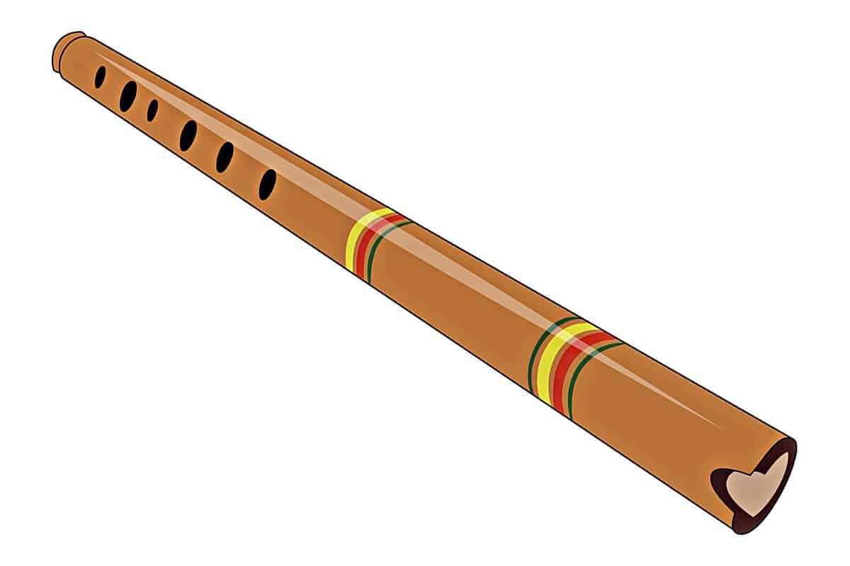 Instrumento de viento quena
