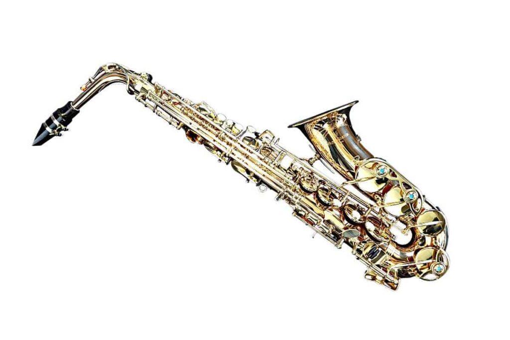 saxofón instrumento de viento madera