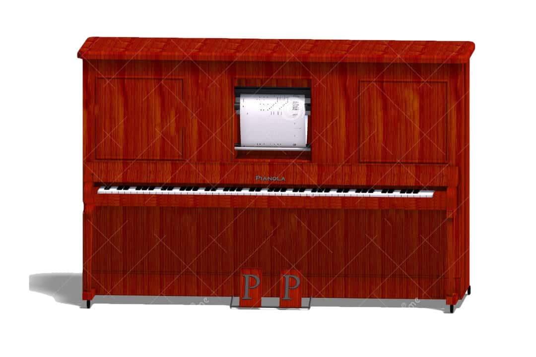 pianola instrumento de cuerda