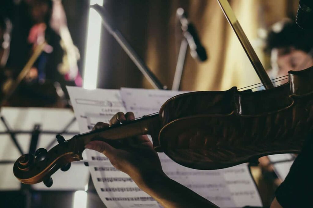 soñar violin