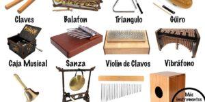 instrumentos de percusión ideófonos