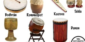 instrumentos de percusión membranófonos