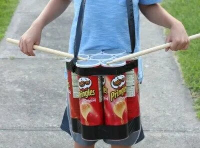 tambor de Pringles
